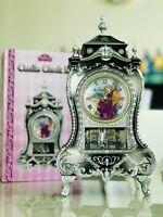 Brand New Disney Princess Castle Clock L Rapunzel Swing Gorgeous Japan Detailed