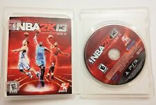 NBA 2K13 PS3 Playstation 3 Game w/ Box and Manual Complete CIB