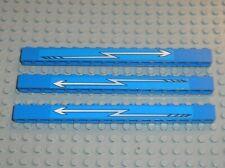 Autocollants LEGO TRAIN 9v Blue bricks 1 x 16 ref 2476 + Stickers /set 4560 4561