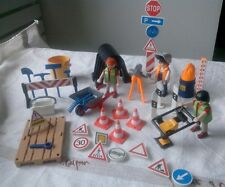 Playmobil lot. Le chantier .vintage