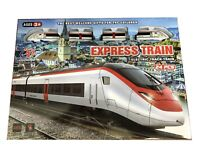 24pc Battery Operated Express Train Set Electric Track Train City Speed