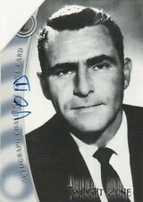 Twilight Zone Series 1 Ultra Rare Voided Autograph Challange Z Card