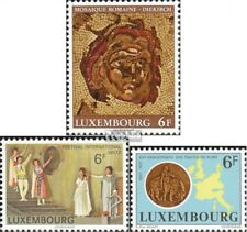 Luxembourg 954,955,956 (complete.issue.) unmounted mint / never hinged 1977 mosa