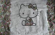 LIBERTY Vintage Hello Kitty Strawberry Field Fabric Pillowcase
