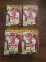 Topps 2020 Baseball Series 2 Hanger Box LOT OF 4 Empire State 67 Cards each