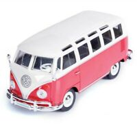 Maisto 1:24 1:25 Custom shop Bugz Volkswagen VW Samba Camper bus Van Green White