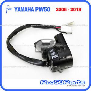 Yamaha 2006-2021 PW50 PeeWee50 Throttle Switch Housing Lever Holder