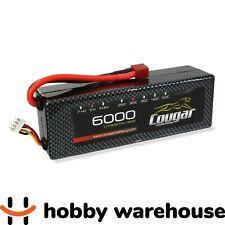 Cougar 6000mAh 11.1v 3S 30C Hard Case LiPo Battery