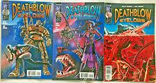 DEATHBLOW#1-3 NM LOT 1999 ALAN MOORE IMAGE COMICS