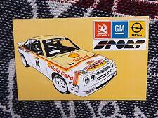 Rallye Carte Postale-Shell Carte Or Opel Manta 400-Bertie Fisher livrée