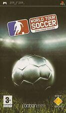 PLAYSTATION PORTABLE WORLD TOUR SOCCER CHALLENGE EDITION PSP GAME