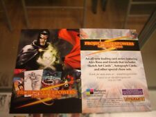 Philly Non Sports Card Show Project Superpowers Promo Card