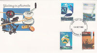 1981 Yachting in Australia FDC - Inglewood WA 6052 PMK