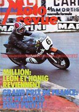 MOTO REVUE 2213 GUZZI TS 250 BULTACO Thierry Tchernine Bianchi KAWASAKI 1975