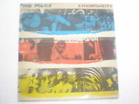 THE POLICE SYNCHRONICITY A&M COLORFUL LABEL RARE LP record vinyl INDIA 259 VG+