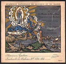 Alexandre Benois. Repetition generale. L'Imperatrice aux rochers. A. Honegger