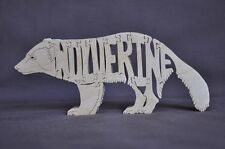 Wolverine  Wooden Animal Puzzle Amish  Scroll Saw Toy