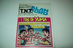 GRUPPO TNT-ALAN FORD-MAGNUS&BUNKER-NUMERO 19-I TRE YUMA-EDITORIALE CORNO