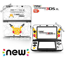 [new 3DS XL] Pokemon 20th Anniversary Pikachu  VINYL SKIN STICKER DECAL COVER