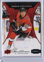 2019-20 Upper Deck Trilogy ERIK BRANNSTROM Rookie Jersey /499 Ottawa Senators
