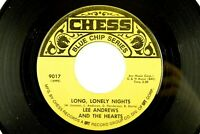 Lee Andrews - Soul Chess 45 RPM - Long, Lonely Nights, Teardrops Z1