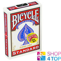 "BICYCLE MAGIC SHORT 1/16"" PLAYING CARDS DECK SPECIAL TRICKS RED USPCC NEW"