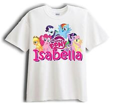 My Little Pony Personalized - Custom Shirt Party Favor