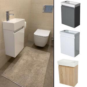 Badmöbel Waschbecken mit Unterschrank Waschtisch Handwaschbecken Bad