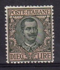 REGNO 1910 Floreale 10L MNH** Ottima centratura