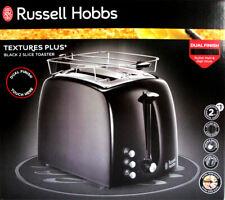 Russell Hobbs 22601-56 Textures Plus Toaster schwarz  2 Scheiben 850 Watt NEU