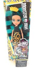 Monster High Cleo De Nile Doll BAM Comic Book Theme Dress Blue Hair BNIB
