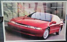 1996 Subaru SVX Huge Brochure Poster wv4838