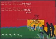 EUROPA CEPT 2004 FERIEN - PORTUGAL MADEIRA 10 x BLOCK 28 GESTEMPELT