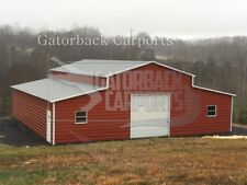 Metal-Barn-40 X 36 X 12 steel building  FREE-DELIVERY-SETUP