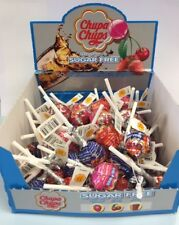 50 Chupa Chups Sugar Free Lollipops - Assorted Flavours