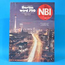 DDR NBI 1 1987 WMK Berlin Kristin Otto Bobbahn Altenberg Borstendorf Putbus A