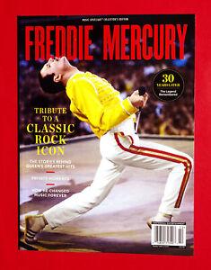 FREDDIE MERCURY Queen Music Spotlight Magazine 2020 Tribute to a Rock Icon 2021
