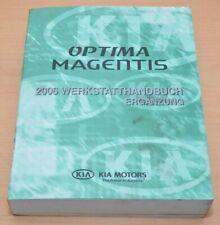 KIA Optima Magentis 2006 Motor D4EA DSL 2,0 M6GF2 F4A51-2 Werkstatthandbuch