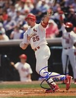 Mark McGwire 8 x10 Autographed Signed Photo ( Cardinals ) REPRINT