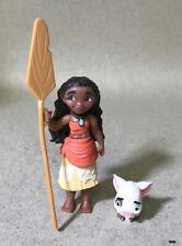 "Hasbro Disney Moana of Oceania Mini 3"" Doll & Pua Pig Lot"