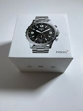New Fossil Q Nate Hybrid Smartwatch 50mm Steel Watch FTW1126 -DS2534