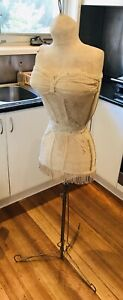 Maniquin / Dress Form - Beautiful Hand Made Antique! Vintage!