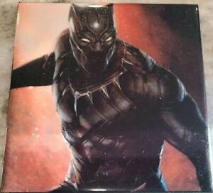 The Avengers Black Panther ceramic tile 4.25 x 4.25 will combine s/h