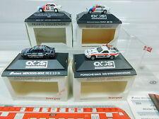 AV156-0,5# 4x Herpa H0 Motorsport: 3510 Porsche+3414 MB+035514/035743 BMW, NEUF