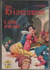 BIANCANEVE best seller n.7 IL CUORE DI RE KURT leone frollo TUTTO A COLORI 1976