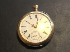Antique TW 14ct Gold Mens Pocket Watch Hunter