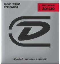 Dunlop Super Bright Nickel Plated Steel Médium 30-130 - Jeu 6 cordes guitare ba