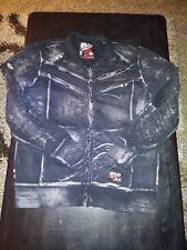 affliction light weight zip up sweatshirt L