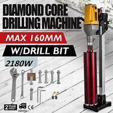 1980w Diamond Drill Concrete Core Machine Feed Crank 220v 6inch Drilling Tool