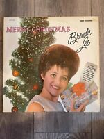 Brenda Lee - Merry Christmas From - vintage OG vinyl LP -Rockin' Around The Tree